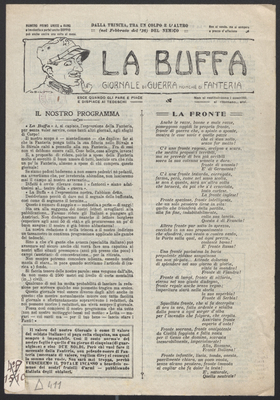 La buffa n°1 - octobre 1917