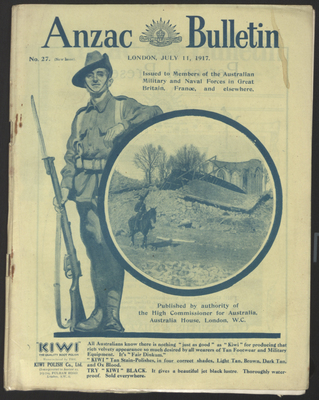 The ANZAC bulletin, 11 juillet 1917
