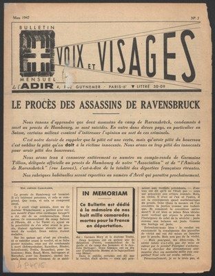 Le procès des assassins de Ravensbrück par Germaine Tillion
