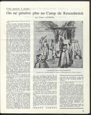 On ne pénètre plus au camp de Ravensbrück